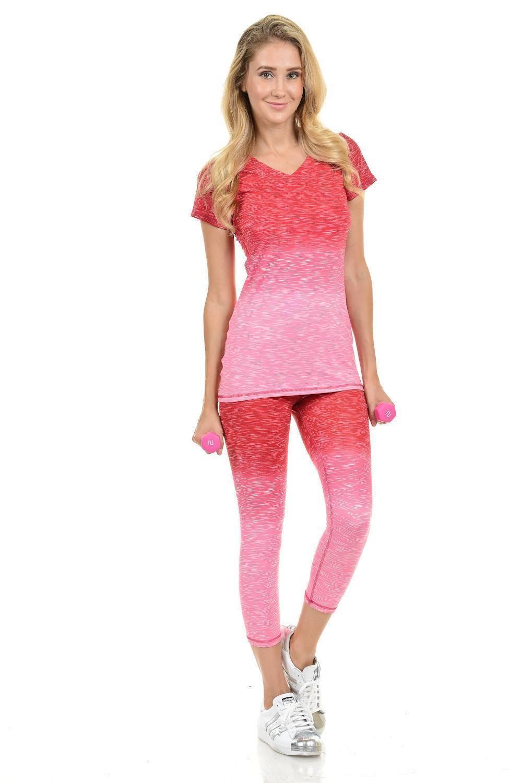 2ea99e8c4f8d6 Diamante Women's Power Flex Yoga Pant Legging Sportswear · Style C004D