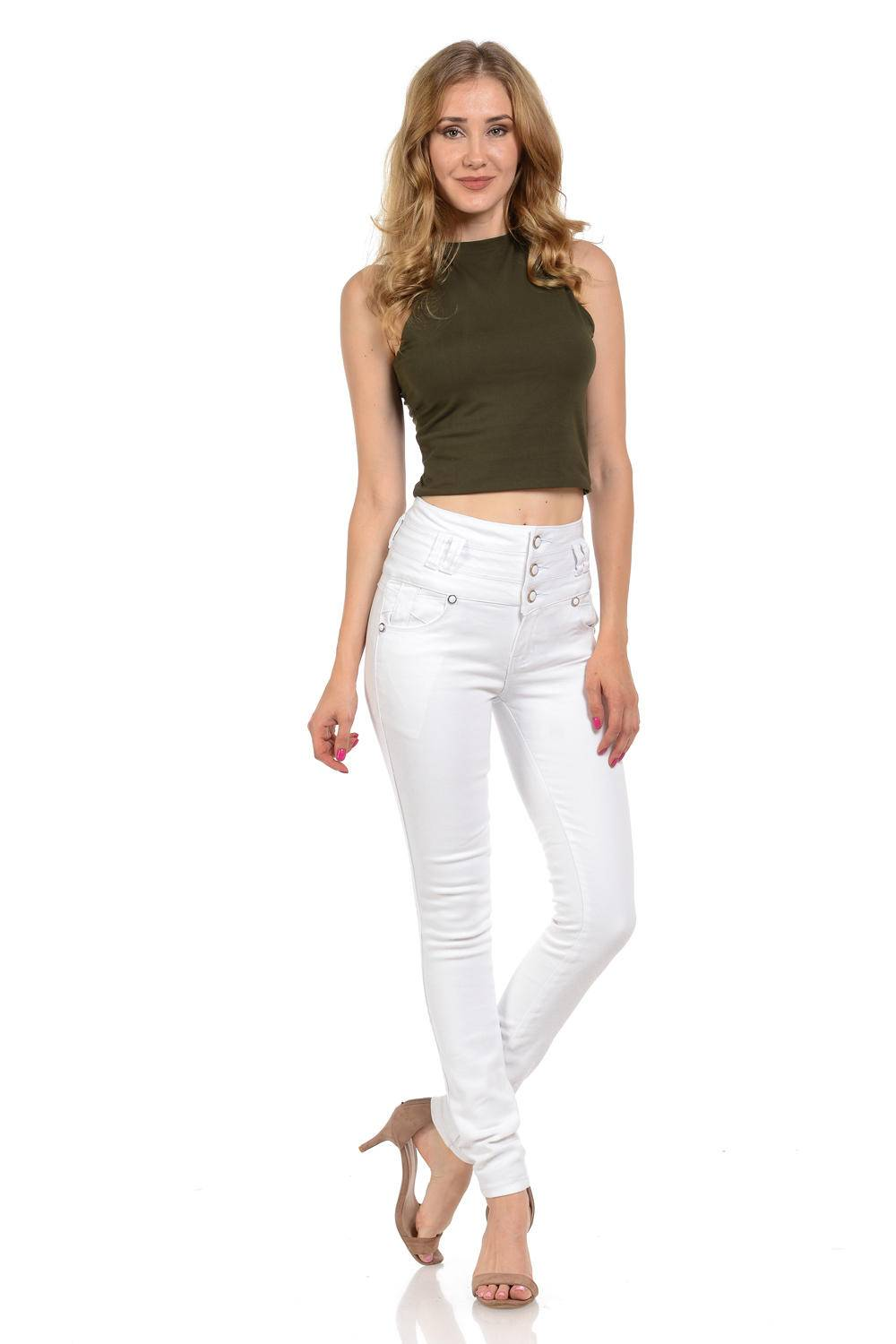 Pasion Womens Jeans /· Push Up /· Style N3005