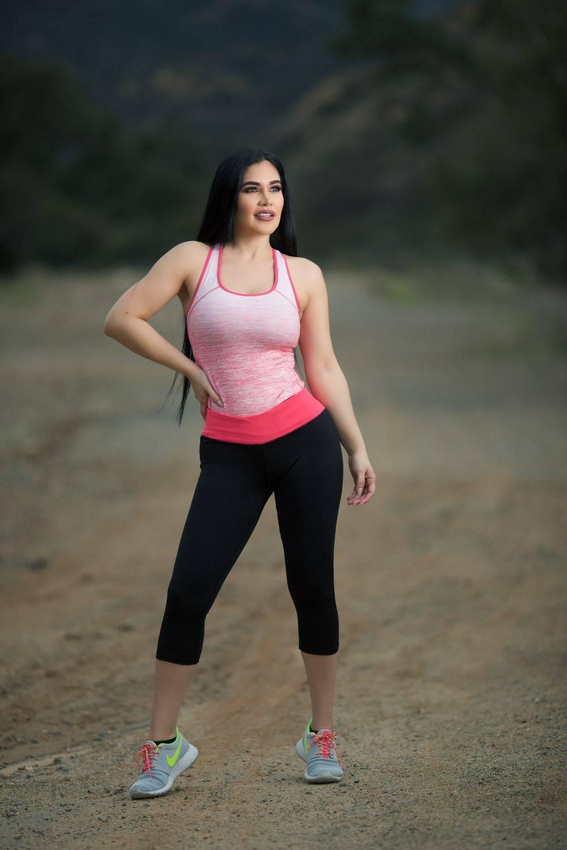 85573ccff42f2 Diamante Women's Power Flex Yoga Pant Legging Sportswear · Style C010B
