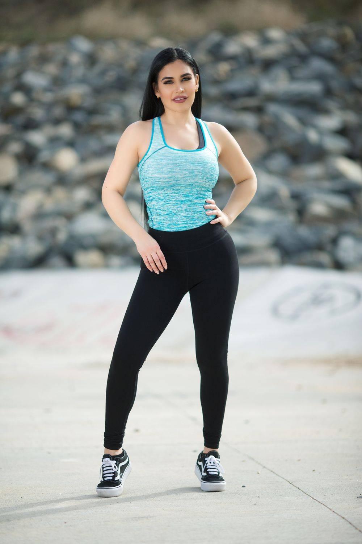 3099e2c7bac76 Diamante Women's Power Flex Yoga Pant Legging Sportswear · Style B03