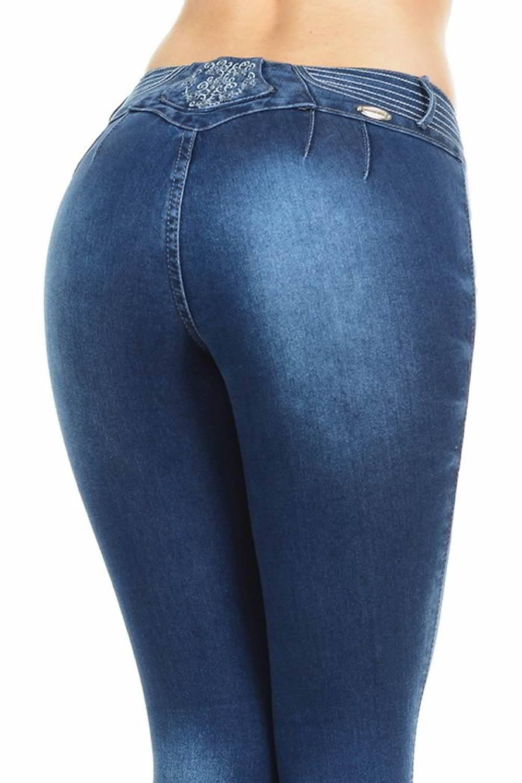 23c4c032ecc M.Michel Women's Jeans Colombian Design, Butt Lift, Levanta Pompa ...