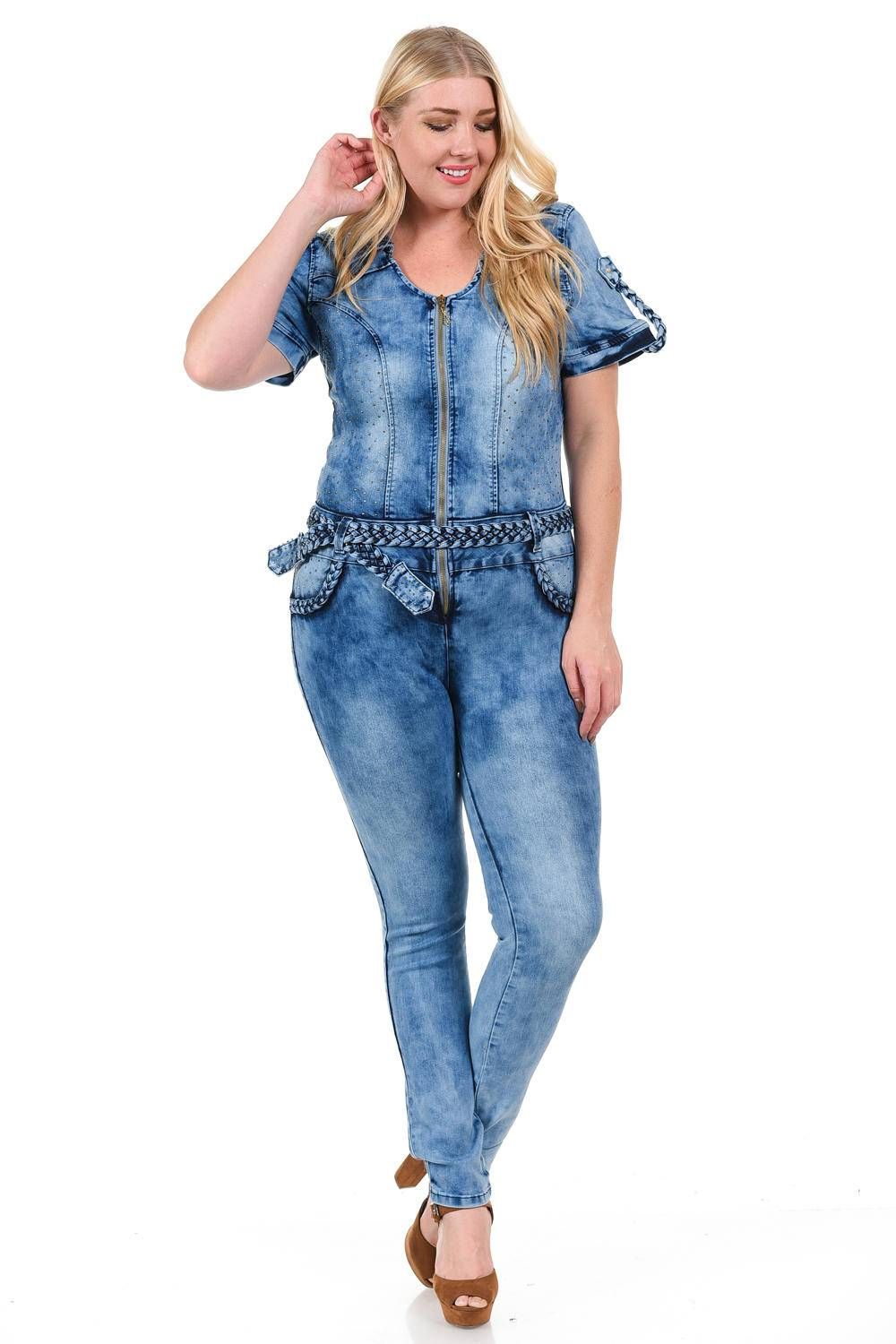 8775d46e3f5 M.Michel Women s Jumpsuit · Plus Size · Style 424PLUS