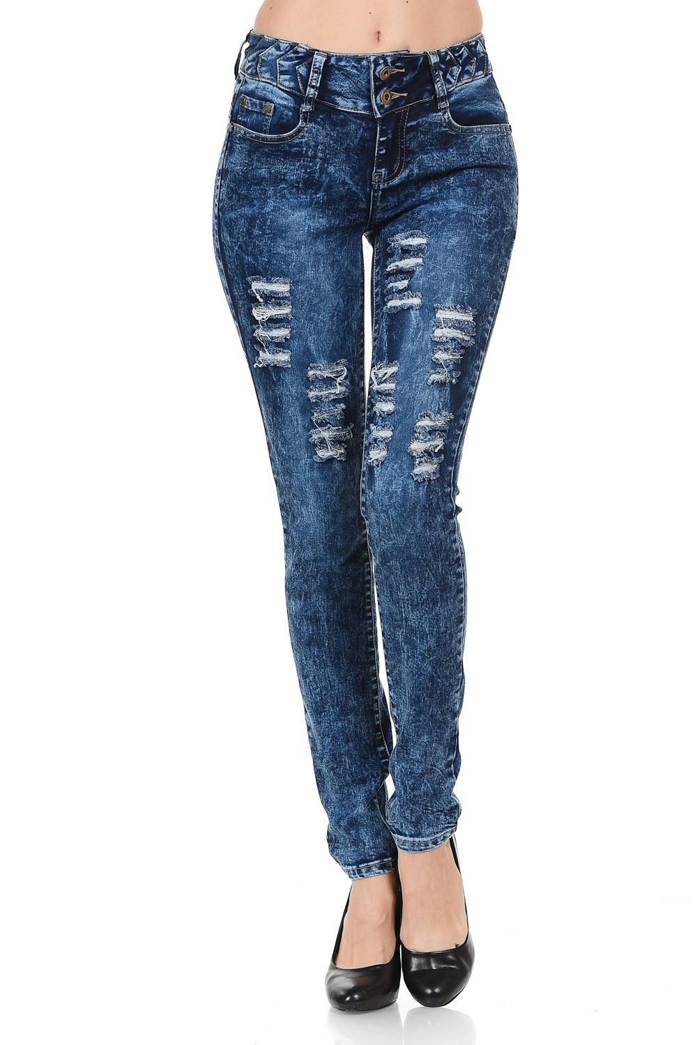 PUSH UP COLOMBIAN JEANS BUTT LIFTER Colombian designers JEANS LEVANTA COLA