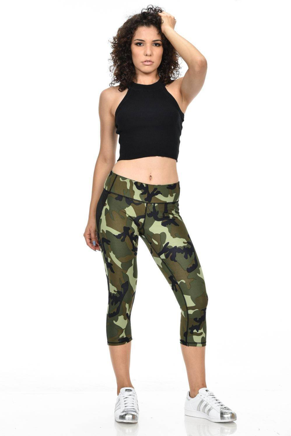 Diamante Women's Power Flex Yoga Pants Leggings Sportswear · Sport ...
