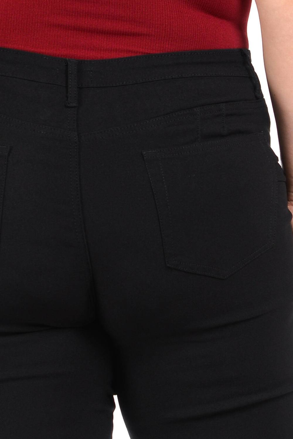 926 Missy Size High Waist Push Up Jeans