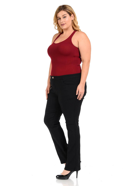926 Plus Size High Waist Push Up Jeans