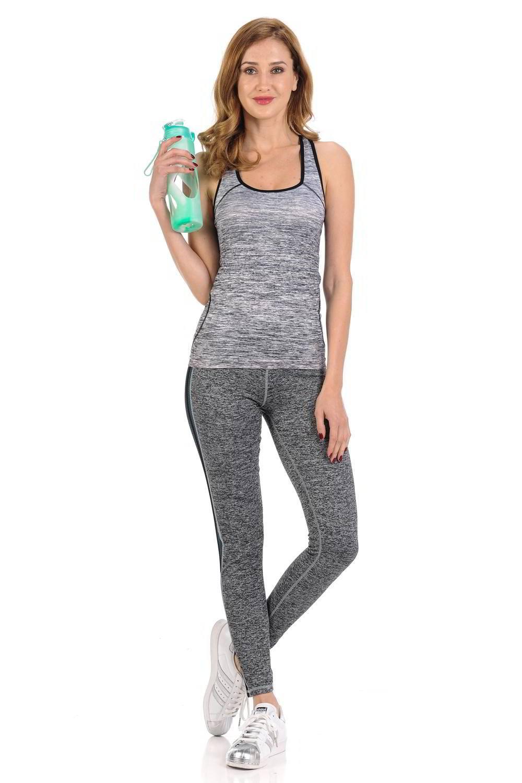 d2a4db355eacb Diamante Women's Power Flex Yoga Pant Legging Sportswear · Style C005A