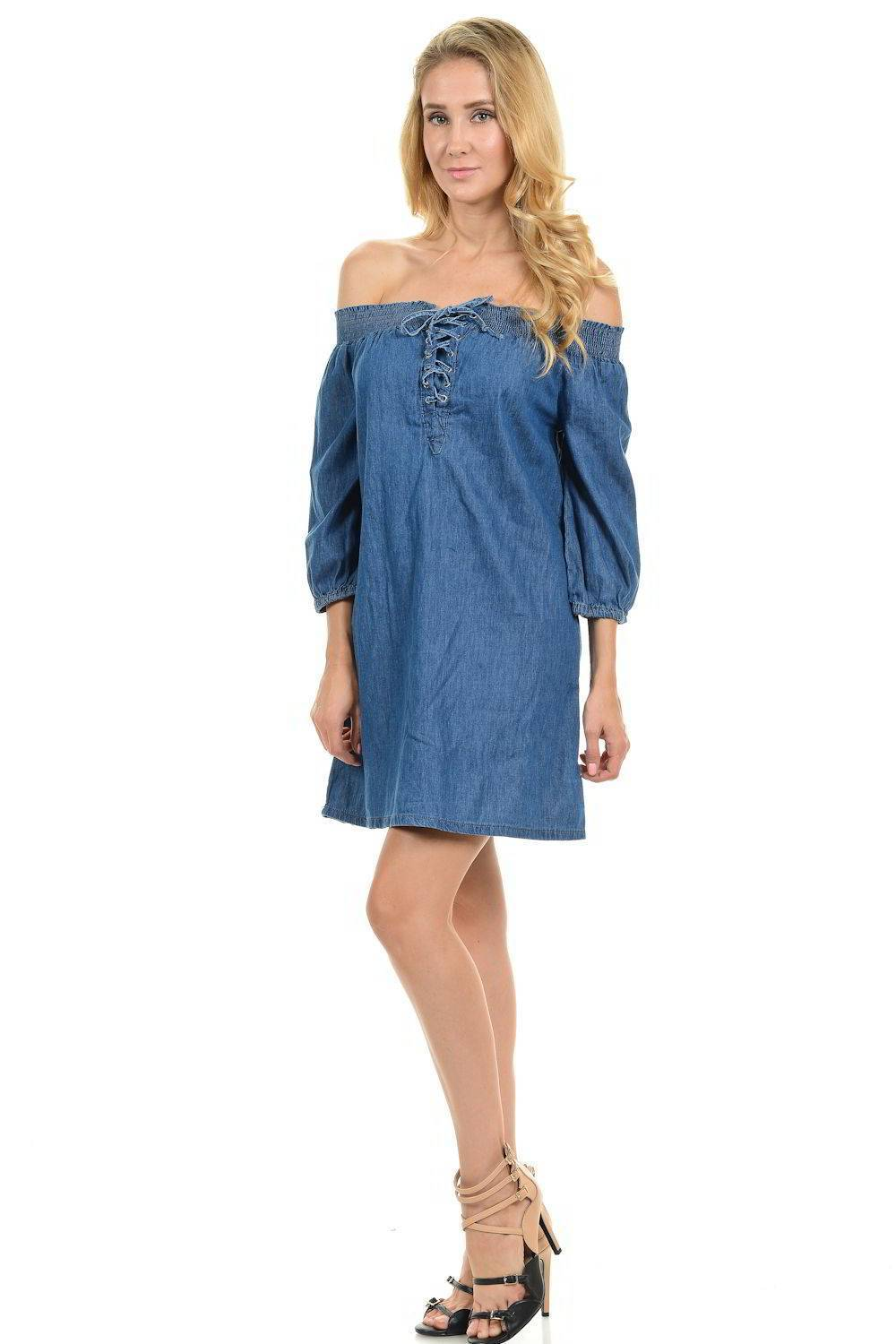Sweet Look Denim Dresses