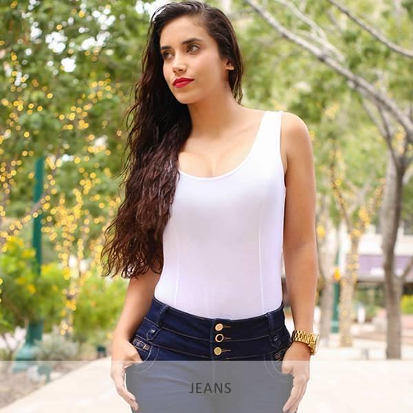 Trendy jeans