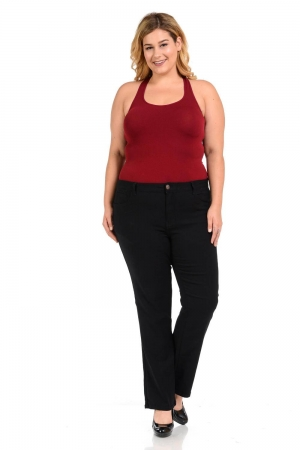 926 Plus Size High Waist Push Up Jeans