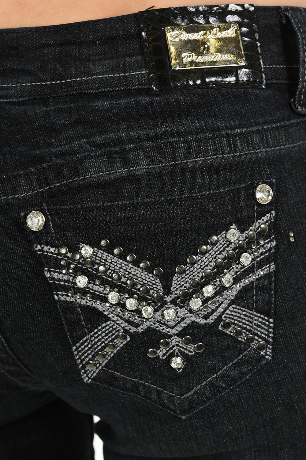 Style S657-R Skinny Sweet Look Premium Edition Women/'s Jeans
